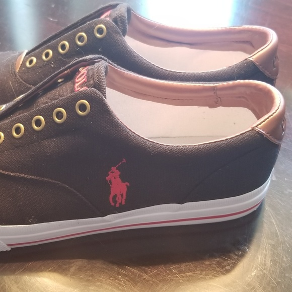 f18a627a67 Polo Ralph Lauren Thorton Washed Twill Sneakers